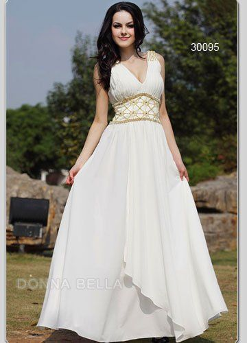 Greek goddess inspired dresses greek goddess fashion for Greek goddess style wedding dresses