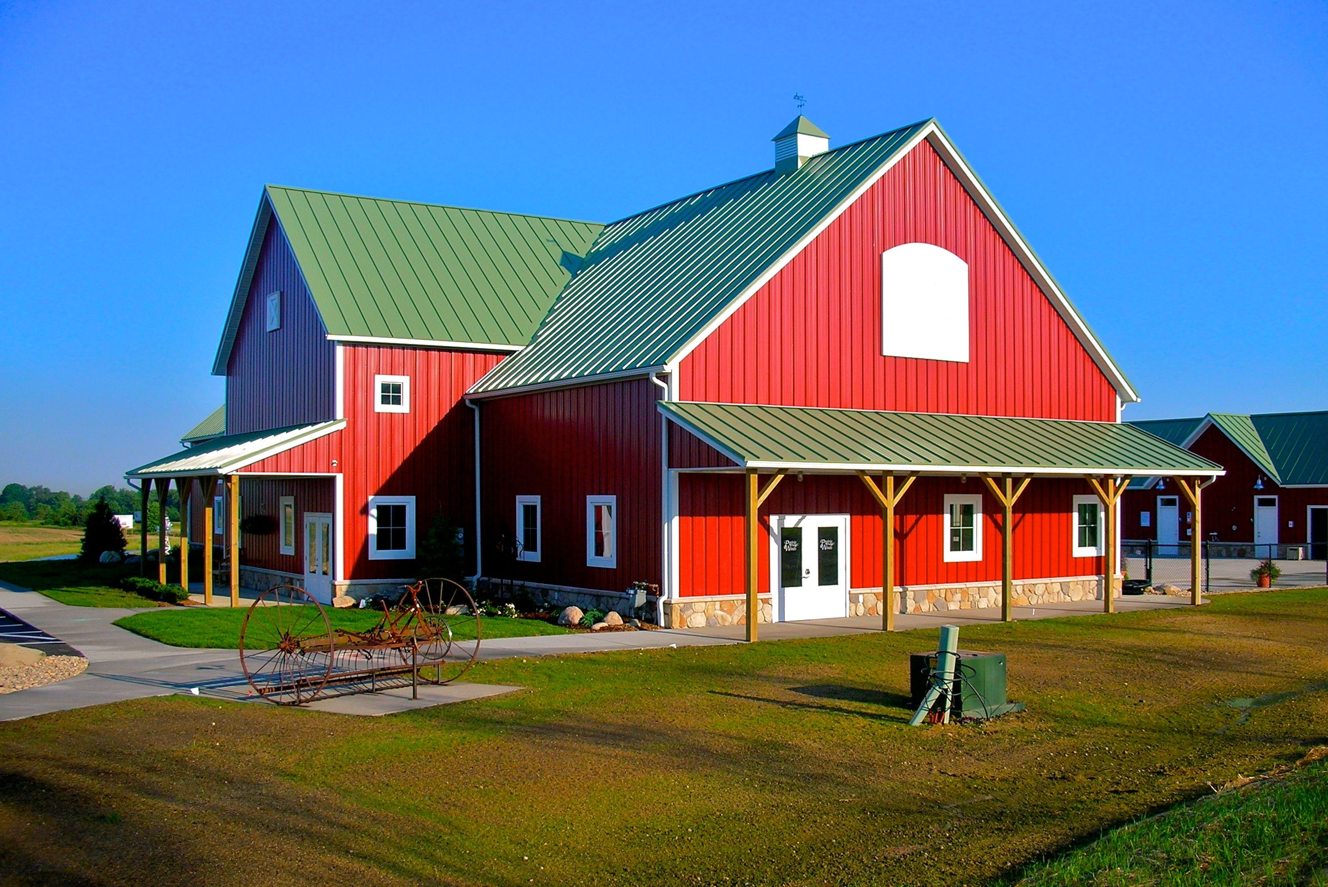 Related image goodness grows farm events exterior - Exterior materials for buildings ...