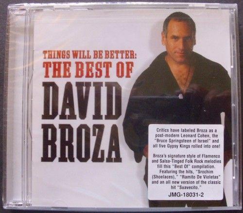 DAVID BROZA THINGS WILL BE BETTER MUSIC CD ALBUM NEW