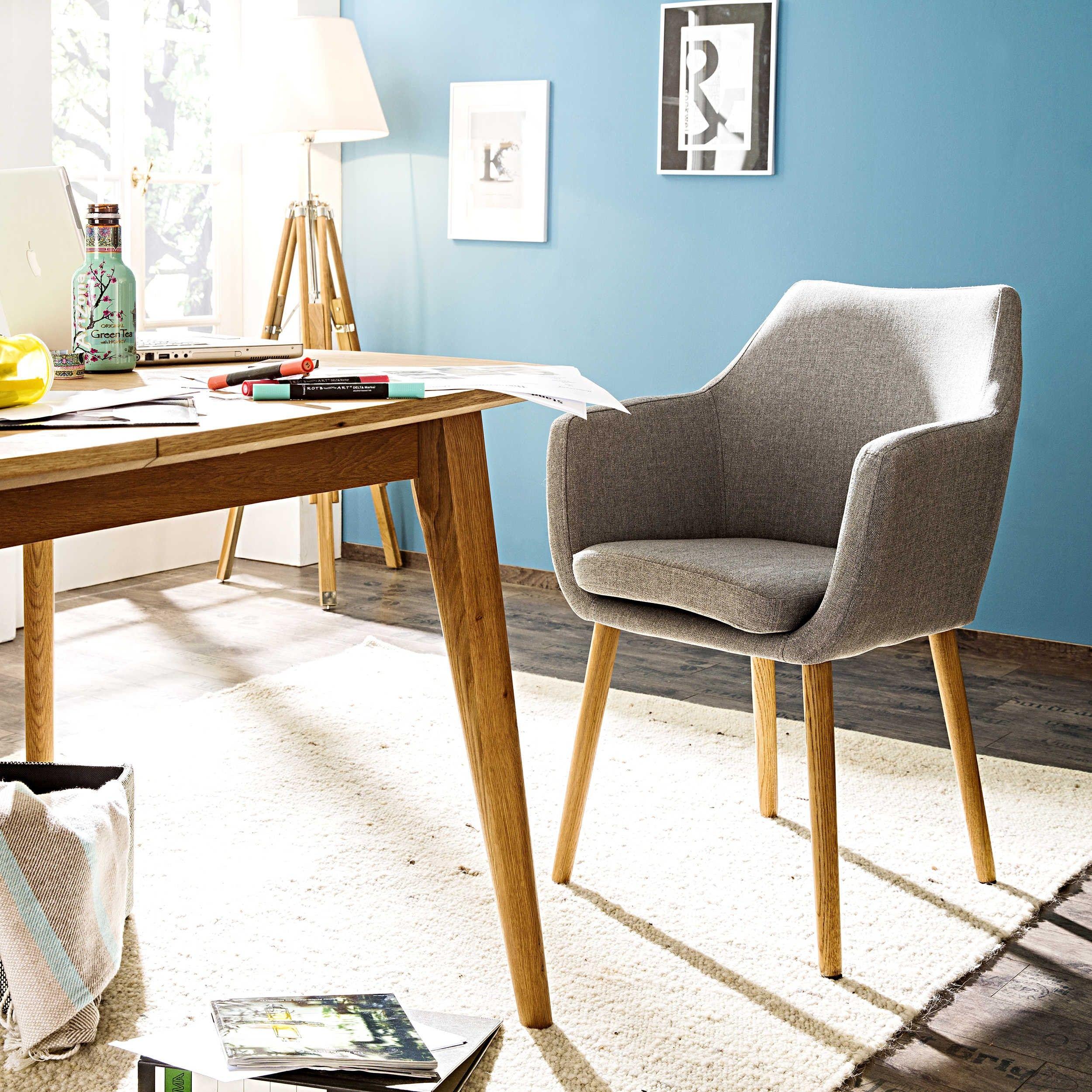 Stuhl petrulli hellgrau 4 fuß stühle stühle freischwinger esszimmer möbel