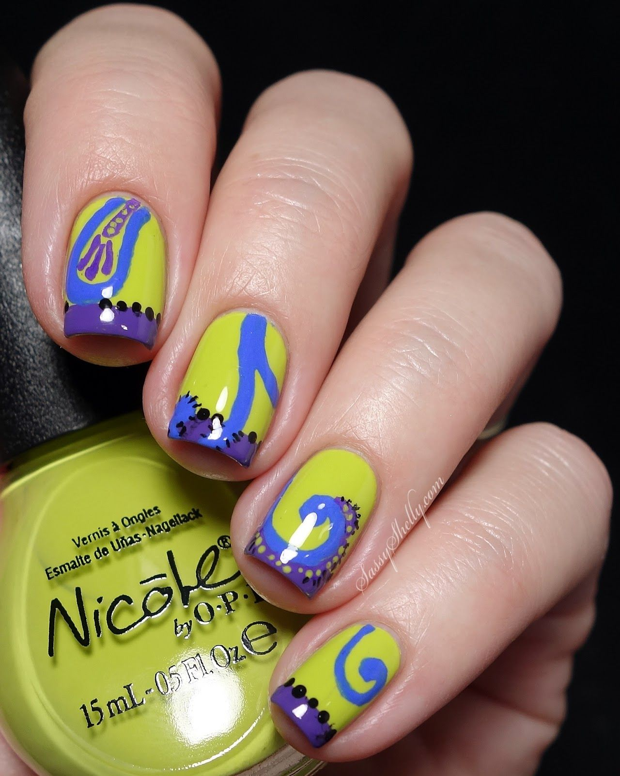 SaveTheUndies with U by Kotex - FREE Samples and inspired Nail Art | OPI
