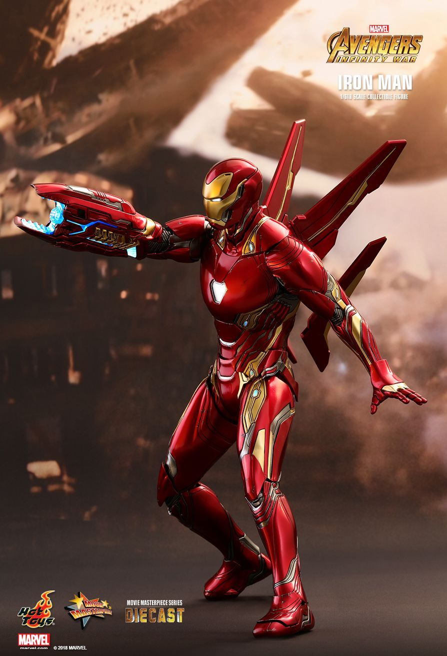 hot toys : avengers: infinity war - iron man 1/6th scale collectible