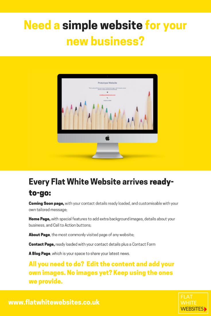 Simple websites for new businesses - websites, wordpress websites ...