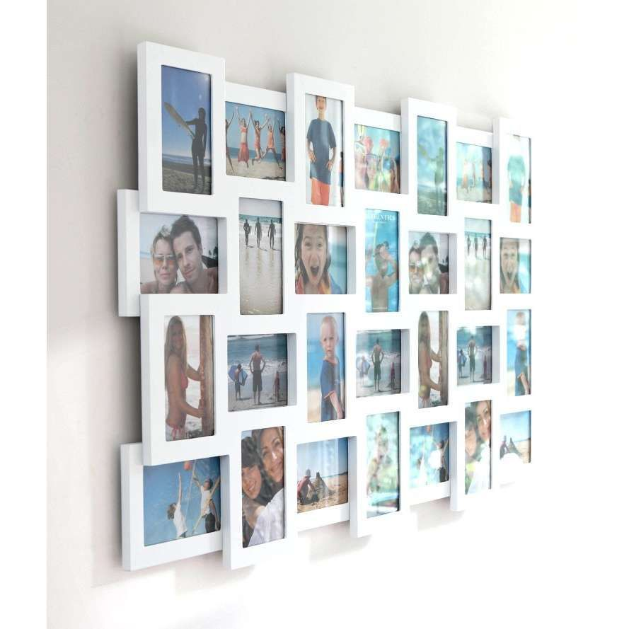 multi-picture frame in white | Hannah | Pinterest | Multi picture ...
