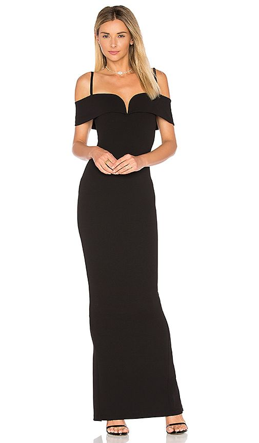 Shop for Nookie Pretty Woman Gown in Black at REVOLVE. Free 2-3 day ...