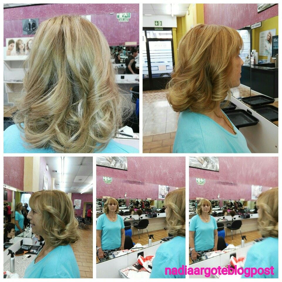 #peluquería #Peinados #nadiaargoteblogpost #NadiaArgote #Bloggers #BBloggers #hairstyle #Ondas #Tinte