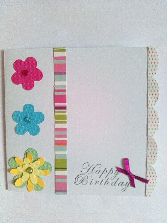 Cute Handmade Birthday Cards Partyparty Pinterest Handmade