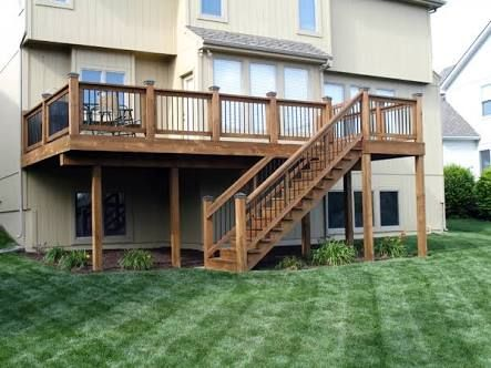 Image Result For 2nd Floor Deck Ideas Building A Deck Second