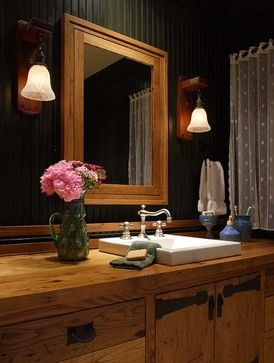 Mountain Air - rustic - bathroom - other metro - by Kathryn Long, ASID