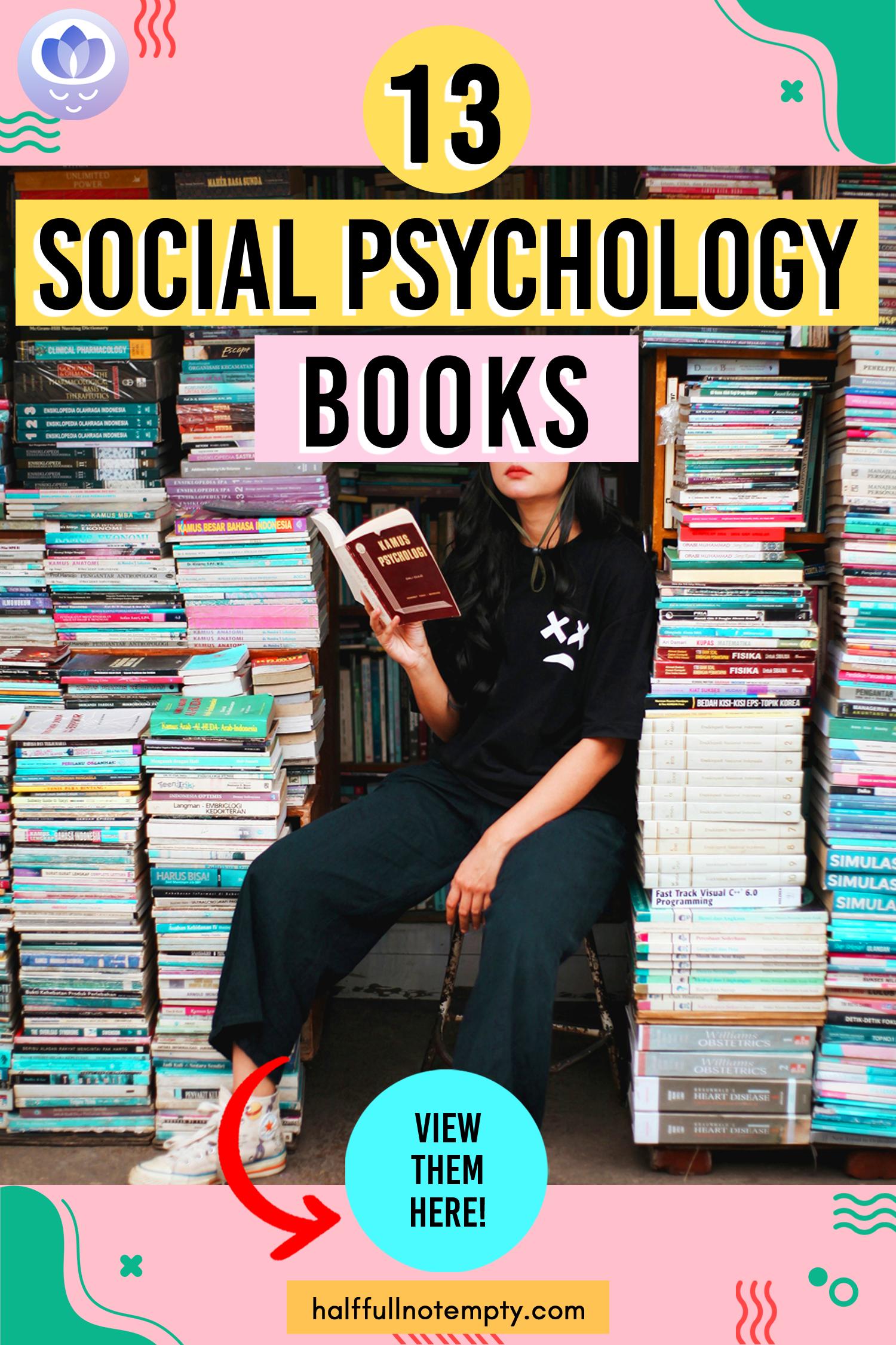 13 Social Psychology Books In 2020 Psychology Books Psychology Social Learning Theory