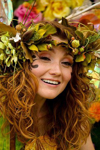 Garden fairy costume | Faires | Pinterest