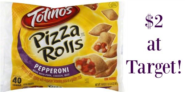 Target Totinos Pizza Rolls Only 150 Bargains Found In