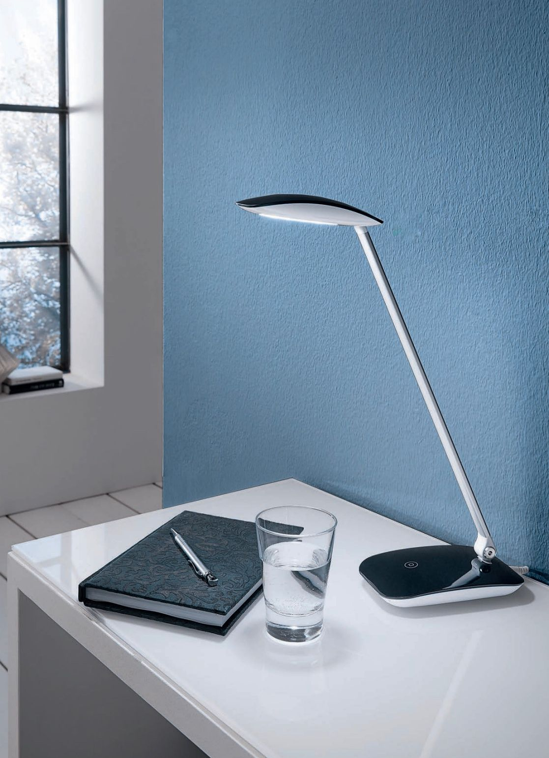 Eglo Cajero Touch Dimmable LED Black