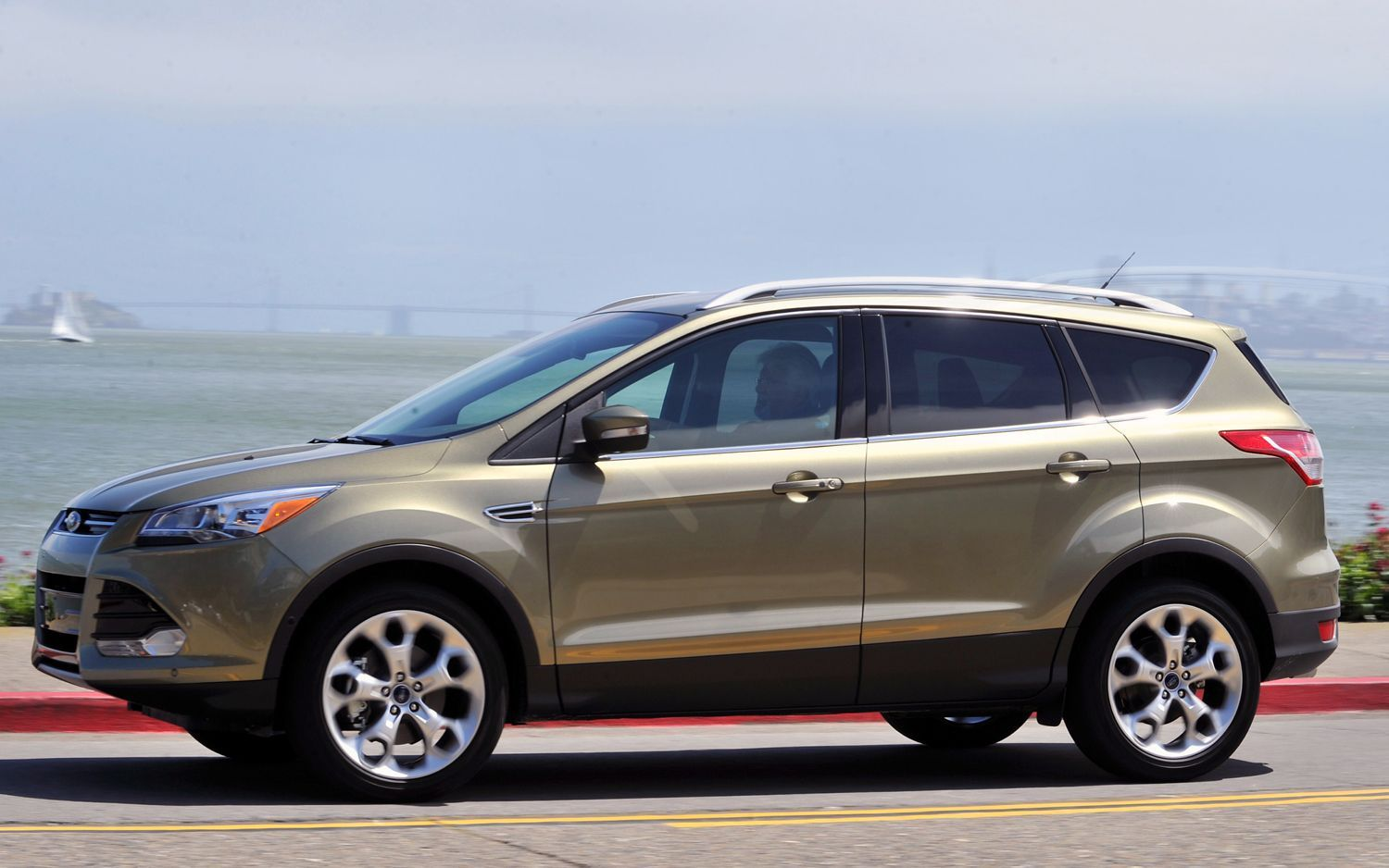 2014 Ford Escape White Nice Look Wallpaper Ford escape