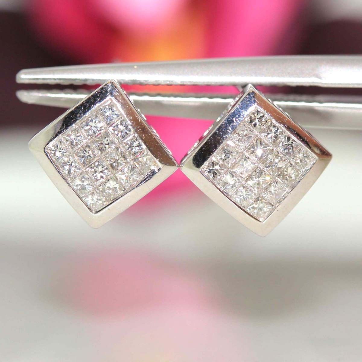 pin diamond simon hunter earrings available by cleef cascade for vintage ruby van at arpels estate taste teakle jewellery set of with and invisible a pair