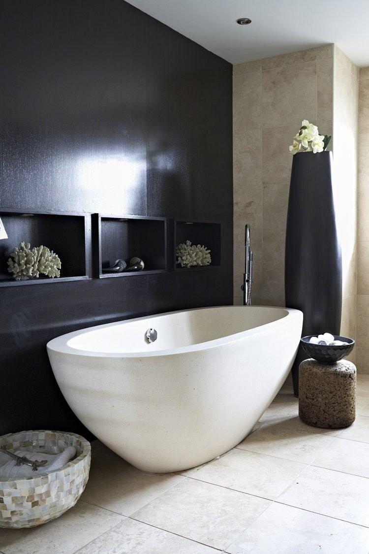 40 idées de salle de bain noire: créez un espace de vie ...