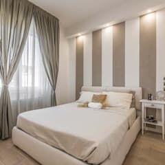 Camera da letto arredata in stile shabby chic: Camera da letto in ...