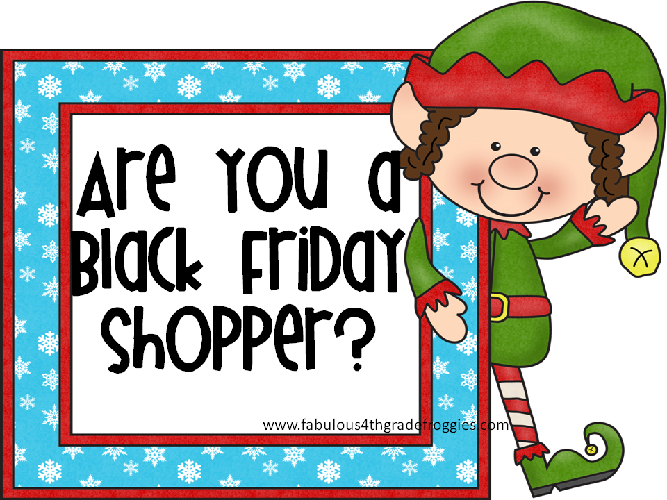 fabulous 4th grade froggies are you a black friday shopper clipart rh pinterest com black friday shopping clipart black friday 2015 clip art