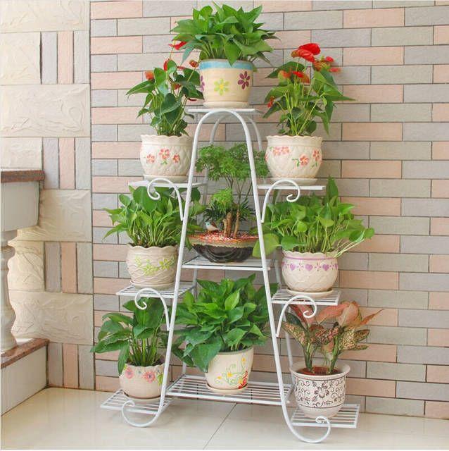 120 cm büyük boy avrupa balkon kapalı saksı tutucu bahçe çiçek standı demir çiçek pergolalar beyaz siyah ve bakır renkli