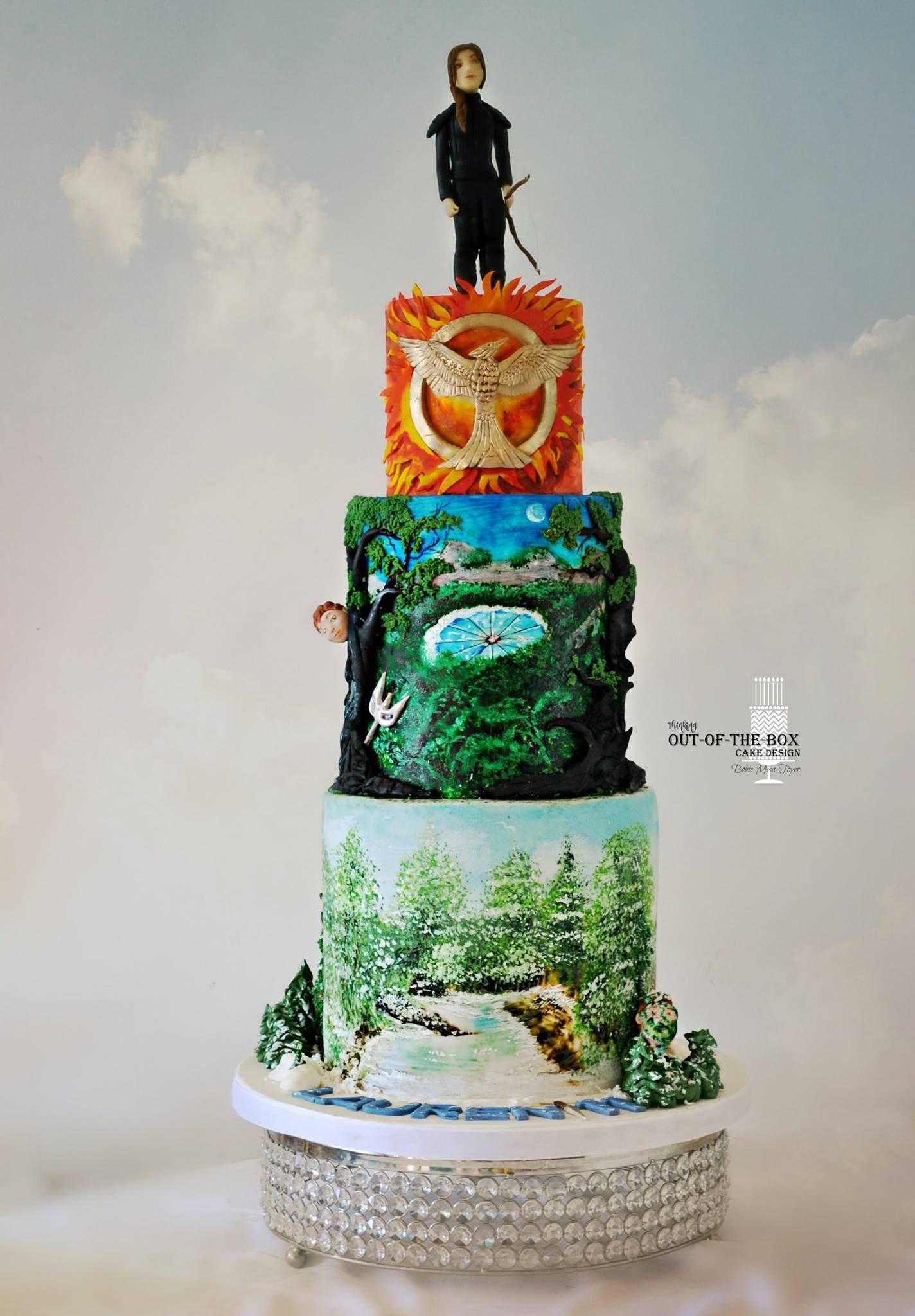 Out Of The Box Cake Design Cakes Movies Tv Shows Pinterest