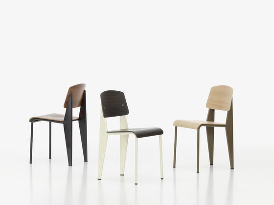 Magnificent Vitra Prouve Standard Chairs Sleek Transparency Ncnpc Chair Design For Home Ncnpcorg