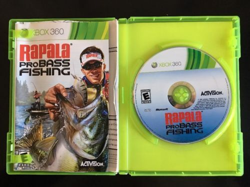 Xbox 360 Fishing Games Fishing Pinterest