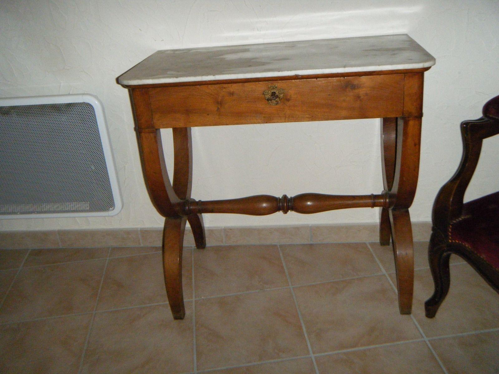 Rare Console Epoque Charles X En Placage De Noyer Art Antiquites Meubles Decoration Xixeme Objets De Decoration Ebay Home Decor Decor Furniture