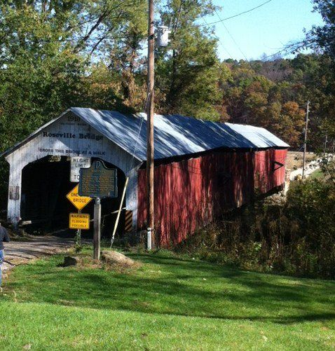 Roseville Covered Bridge, Parke Co. Indiana