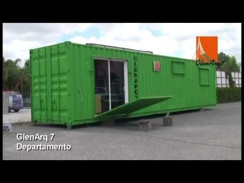 Departamento en contenedor maritimo casas contenedores pinterest contenedores - Contenedor maritimo casa ...