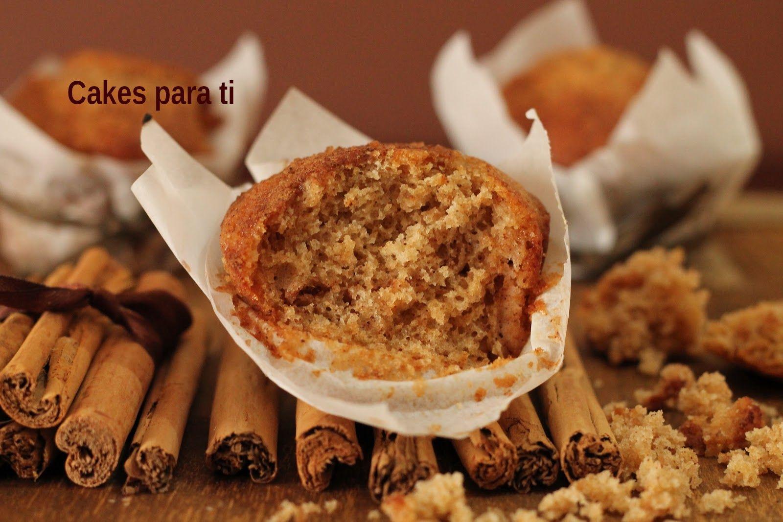 CAKES para ti: MUFFINS DE MIEL Y CANELA