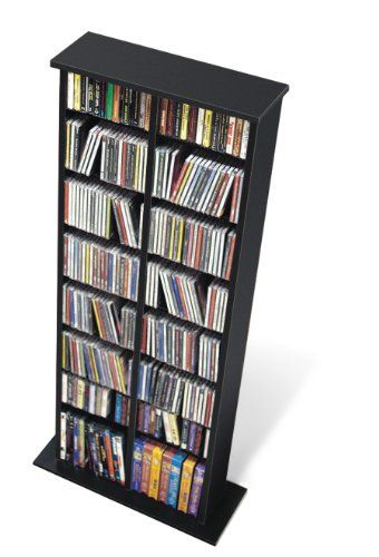 Prepac Black Double Media (DVD,CD,Games) Storage Tower Prepac http://www.amazon.com/dp/B001KW0BBA/ref=cm_sw_r_pi_dp_zKp5ub1F49SYZ