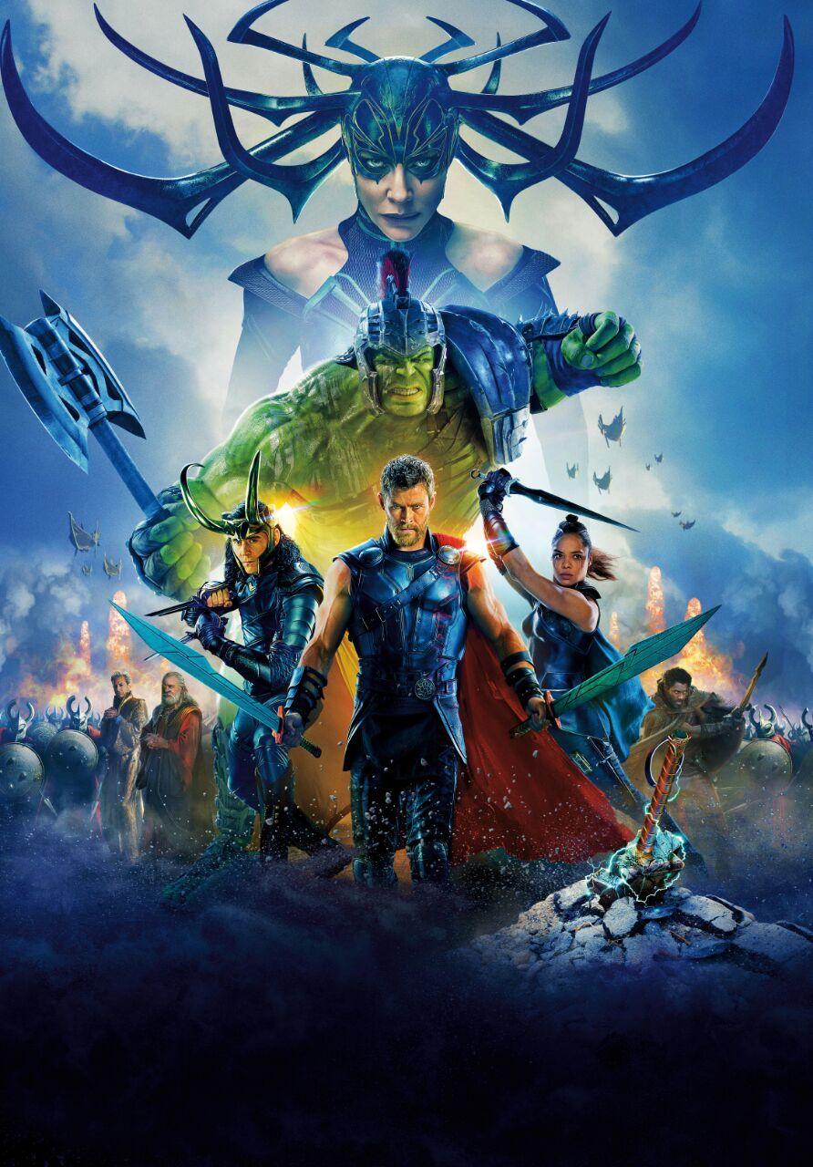 Poster Thor Ragnarok Sem Texto 2 Ragnarok Filme Assistir