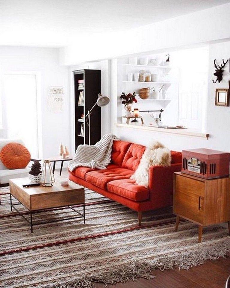 20 Cozy Modern Red Sofa Design Ideas For Living Room In 2020 Red Sofa Living Room Modern Red Sofas Red Sofa Living
