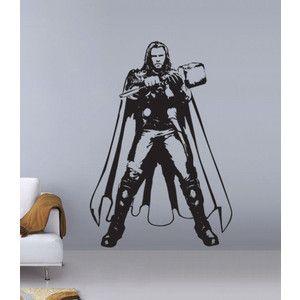 Thor Chris Hemsworth The Avengers Vinyl Wall Art Decal WD - Vinyl wall decals avengers