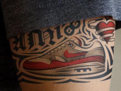 Airmax ink | Skin & Ink | Nike sportswear, Ink, New work