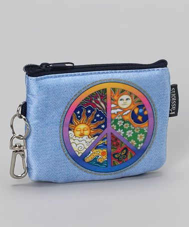 Take a look at this Peace Groovy Coin Purse by Peace, Love & Accessories Collection on #zulily today!