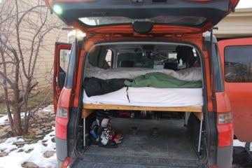perfect ski surf car honda element ecamper page 3 element pinterest honda element. Black Bedroom Furniture Sets. Home Design Ideas