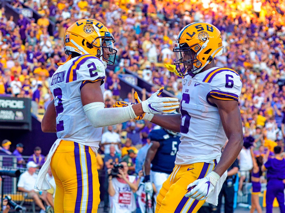 Get to Know the CloseKnit LSU WR Trio That Rivals Alabama