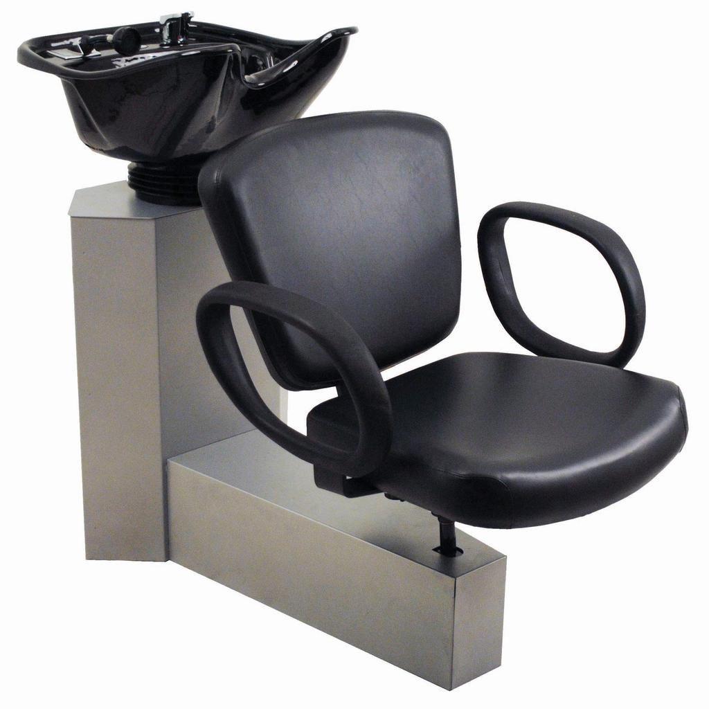 Belvedere Pacific Backwash Chair Salon Chairs Salon Shampoo Area