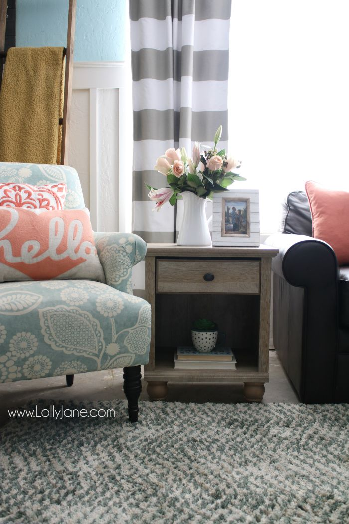 Tips To Freshen Up Your Family Room Love This Colorful Farmhouse Affordable Home Decor And Trendy Goods From Bhg S Live Better Line