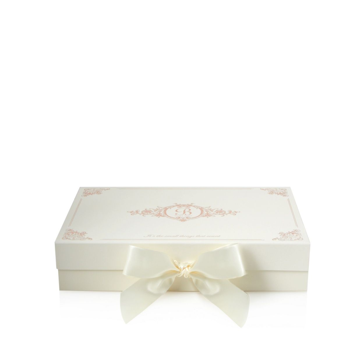 B By Ted Baker Cream Luxury Gift Box With Tissue Paper At Debenhams