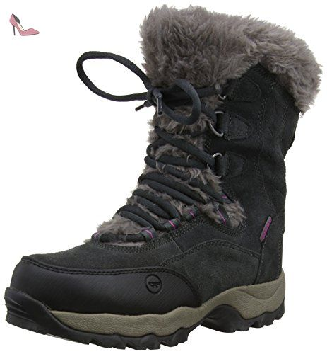 Hi-Tec St. Moritz 200 WP II W', Damen Trekking- & Wanderstiefel - Grau (Charcoal/Viola), 37 EU (4 Damen UK)