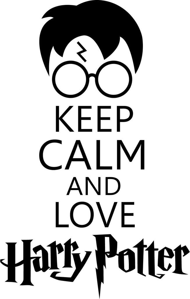 Harry potter keep calm and love harry potter car window for Keep calm immagini