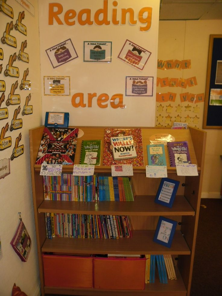 Classroom Ideas Ks2 ~ Part of our reading area in year classroom ideas