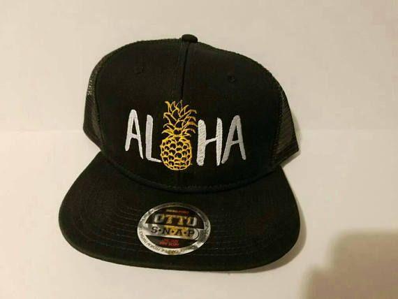 Aloha Pineapple Cap  Embroidered Custom OTTO Caps f733db73ad78