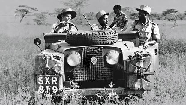 1950s+Series+1+LR+Safari | Sport aventure, Land rover, Voiture