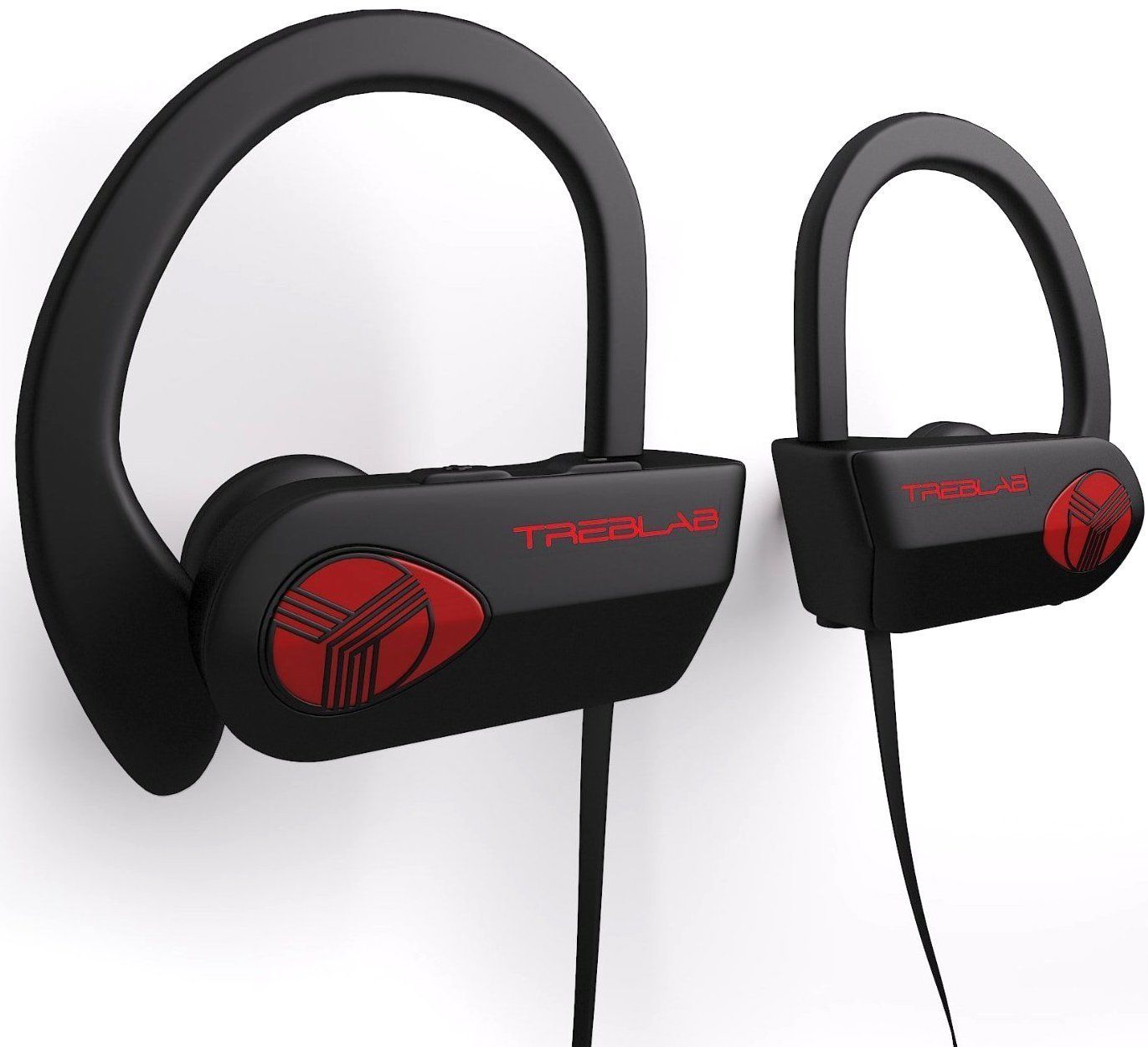 Treblab Xr500 Bluetooth Headphones Noise Cancelling Amazon Co Uk Electronics Running Headphones Bluetooth Earbuds Wireless Sports Headphones