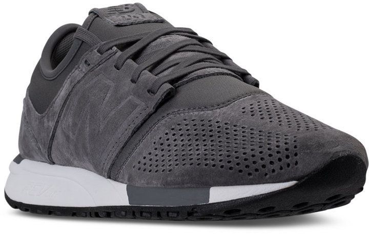competitive price 0a1e4 c7940 New Balance Men s 247 Suede Casual Sneakers from Finish Line