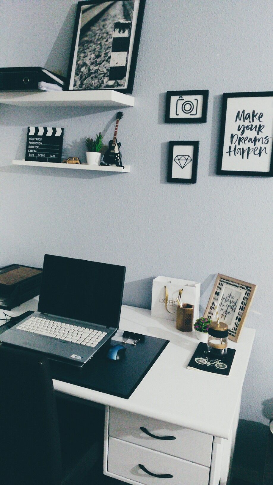 My home office #diy #homeoffice #escritorio #office #decor ...