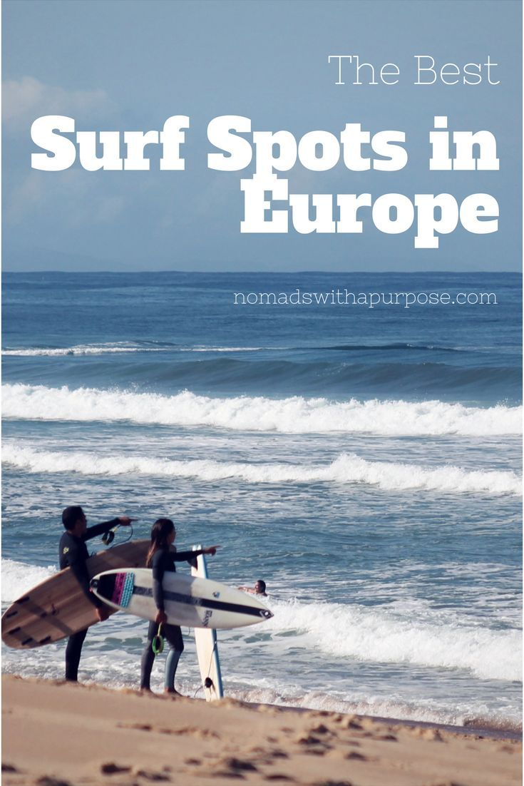 Best Surf Spots In Europe For Intermediates For Beginners With